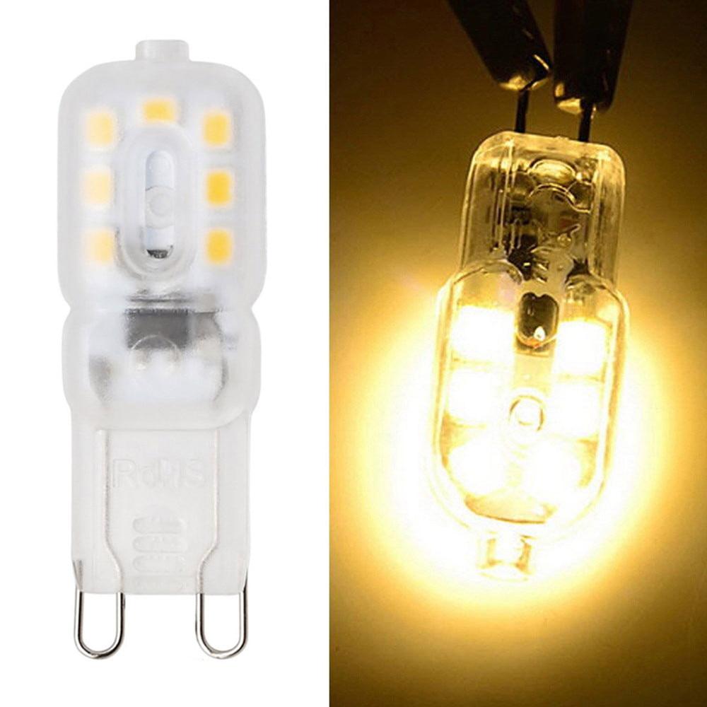 SMD2835 Led Bulb G9 High Brightness LED Light Corn Bulb CW/WW AC220V Capsule Lamp 220V Lighting Bulb