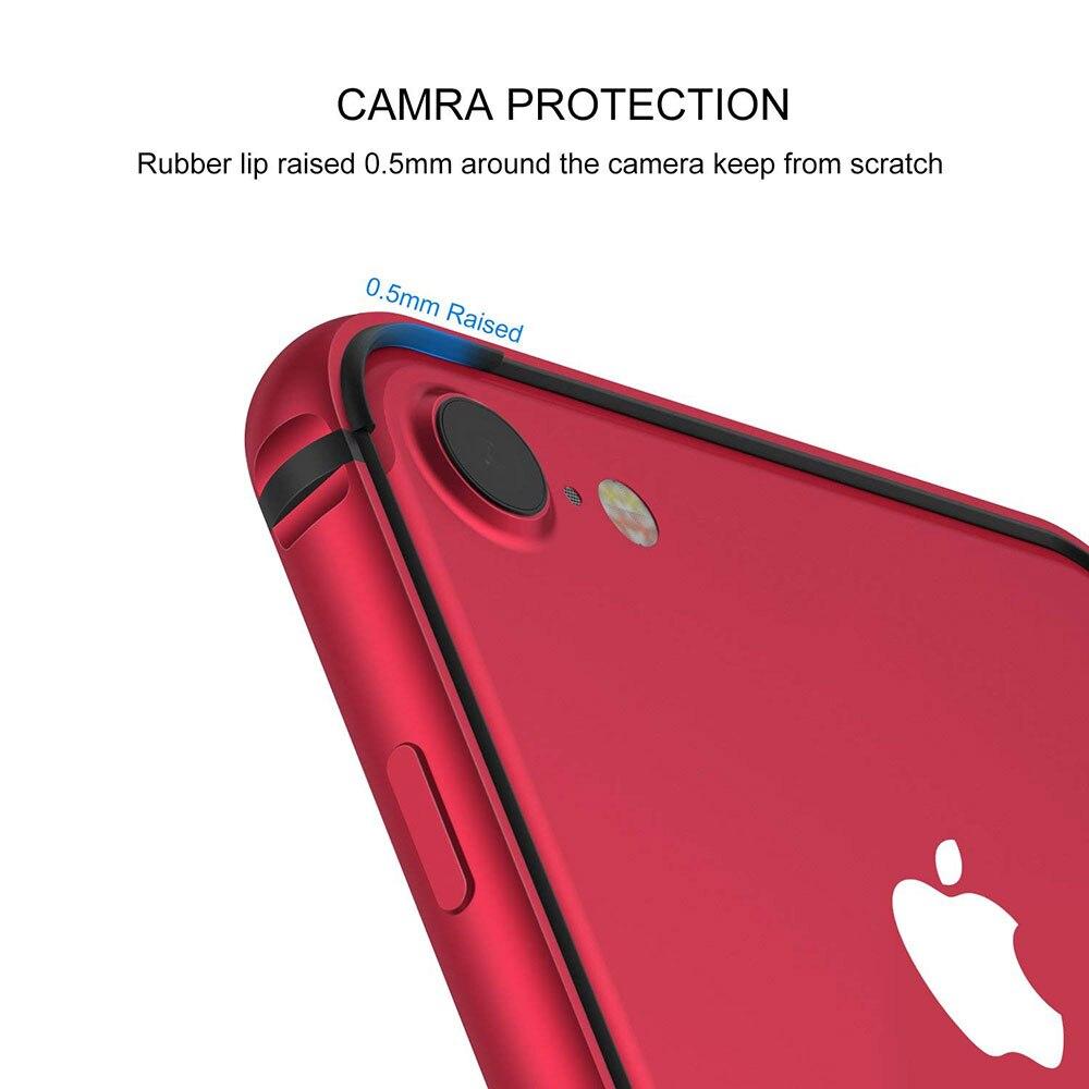 Ascromy For iPhone 7 Bumper Case No Back Aluminium Frame Rubber TPU Shockproof Coque Funda For iPhone 8 Plus 7 8plus Accessories (10)