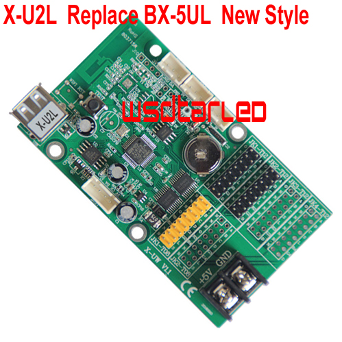 X U2L Replace BX 5UL USB LED controller card 640 16 1024 16 Single Dual color