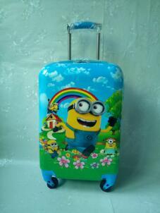 Здесь продается   New Cartoon boys school bag Spinner Rolling Luggage With password 20 inch children