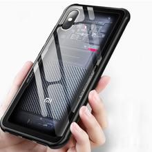 Shockproof Armor Case For Xiaomi Mi 8 5X 6X MIX 2S Soft TPU Silicone Bumper Cover