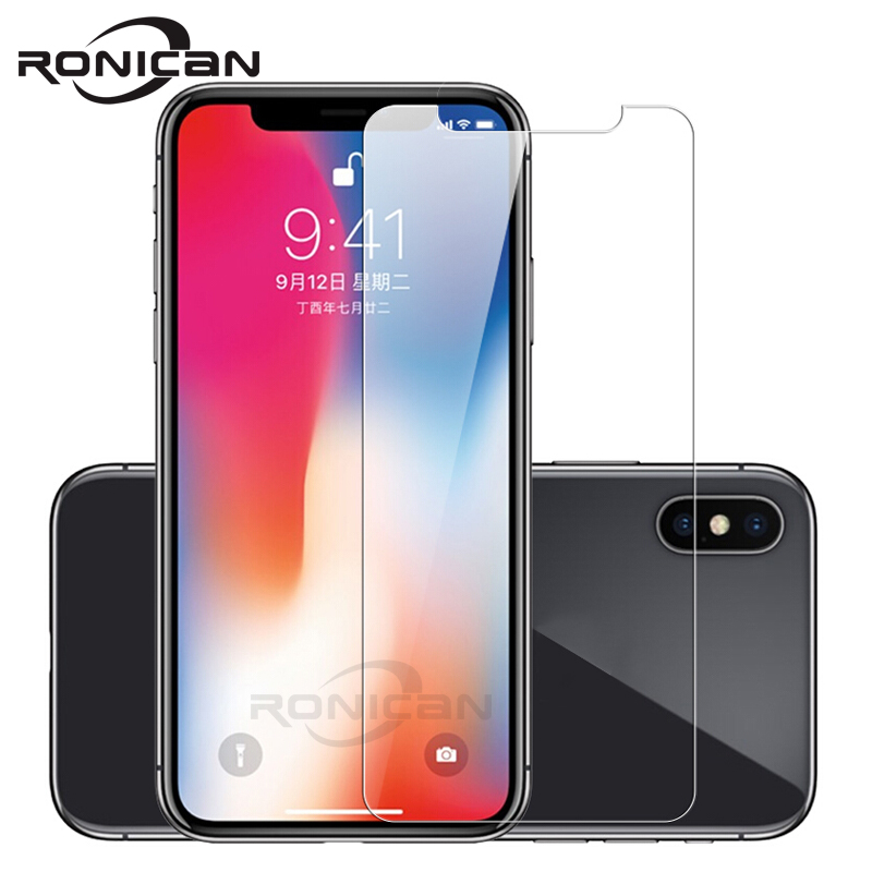 Tempered Glass For IPhone X XS Max XR Screen Protector For IPhone 6 6s 7 8 Plus 5 5S SE 4s Glass Film For IPhone 11 Pro Max Case