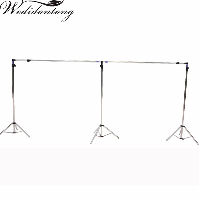 Aliexpress.com : Buy Wedding Backdrop Stand Metal Frame Adjustable ...