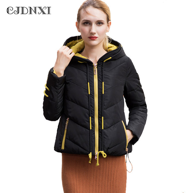 Aliexpress.com : Buy Winter Women's Down Jacket Cotton Parka Coat ...