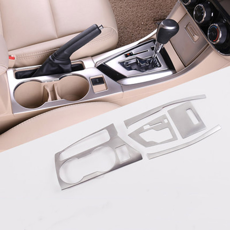 For 2014 2015 2016 Toyota Corolla E170 Accessories Stainless Steel Interior Trim Moulding