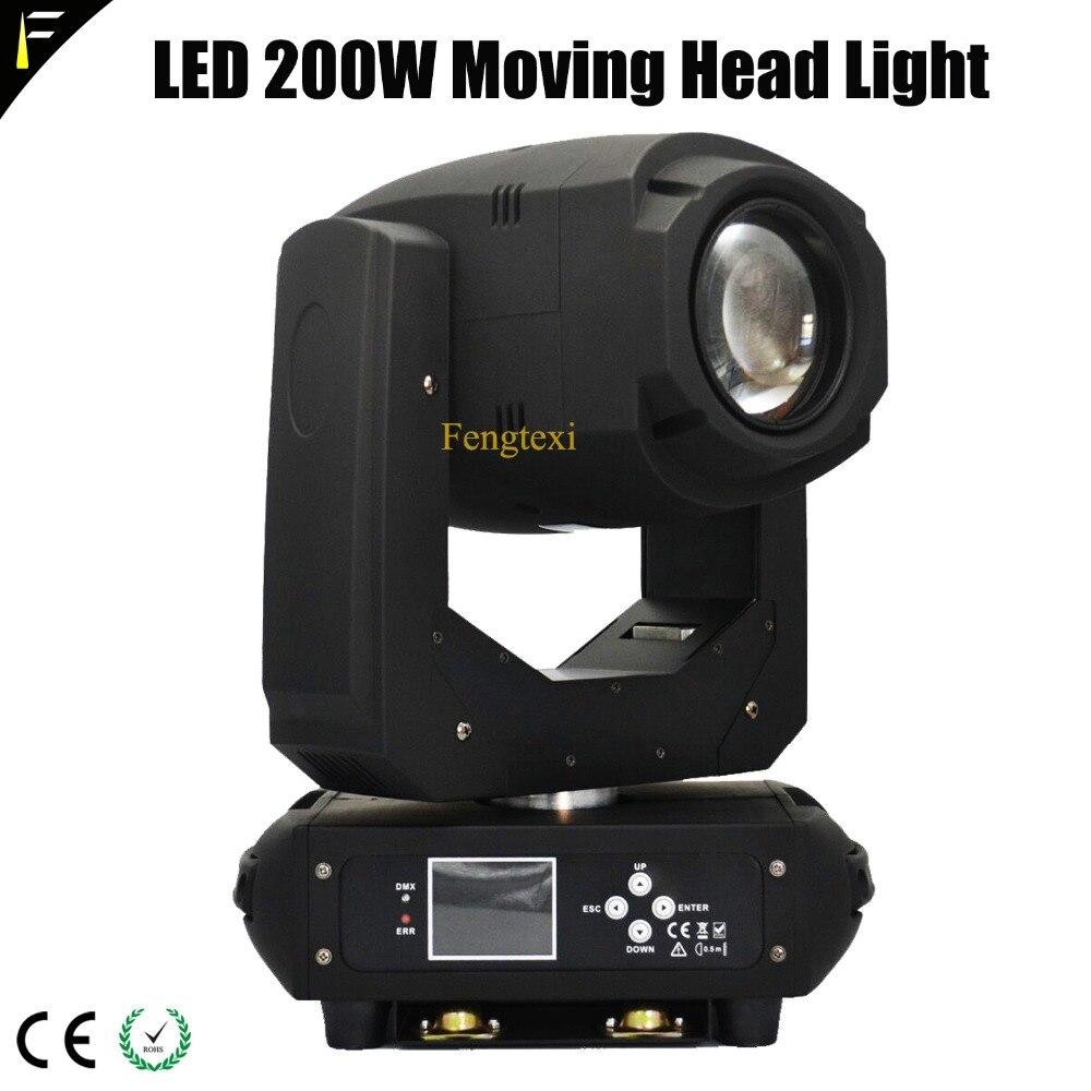 7 Color LED 200W Moving Head Beam Spot Light 3 Prism Gobo LED 200 Sharpy Beam Lighting 2018