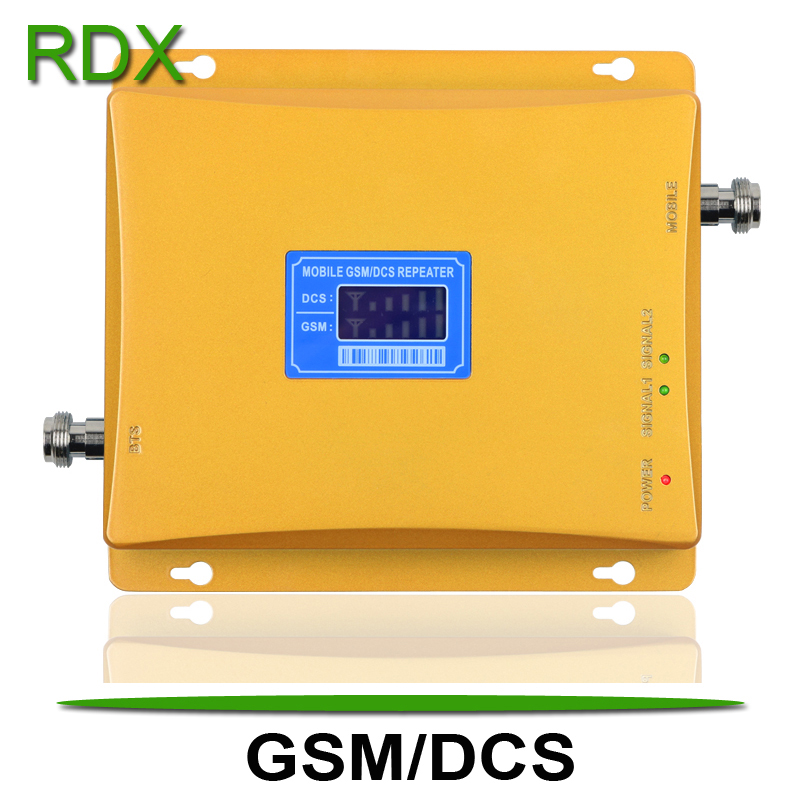 Cellphone Dual Band 2G 4G Signal Booster High Gain Mobile Phone Dual Band GSM 900 DCS 1800 Signal Repeater Amplifier On Sale