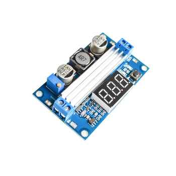 10pcs/lot DC DC-DC 3~35V to 3.5~35V Booster step up Step-up module Converter Regulated Power Supply+VoltMeter - DISCOUNT ITEM  13 OFF Electronic Components & Supplies