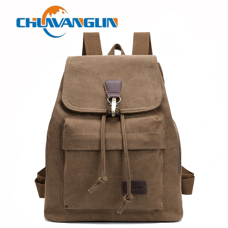 a275a176f082 Chuwanglin Men and Women Unisex Military Backpack Canvas Bag ...