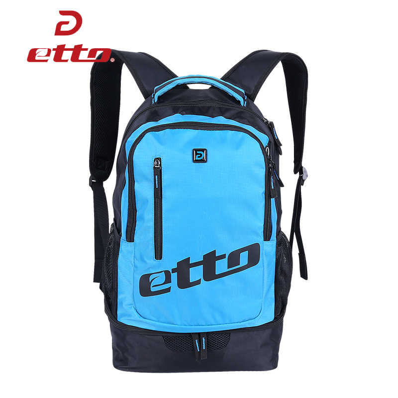 a7cef5e8dfb Detail Feedback Questions about Etto Waterproof Soccer Basketball Team  Training Bag Men Women Sports Backpack with Bottom Independent Shoes  Compartment ...