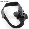 Easttowest Gorpo Accessories Universal Helmet Strap Belt Mount For Xiaomi Yi Gopro Hero 4 3 3+ SJCAM SJ4000  DSLR Camera