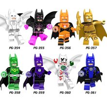 SinglesaleSuper Hero Blink Mar-Vell Figure Comic Spawn Joker Dr Fate Rorschach Green Lantern Building Blocks Sets Model Kits Toy(China)