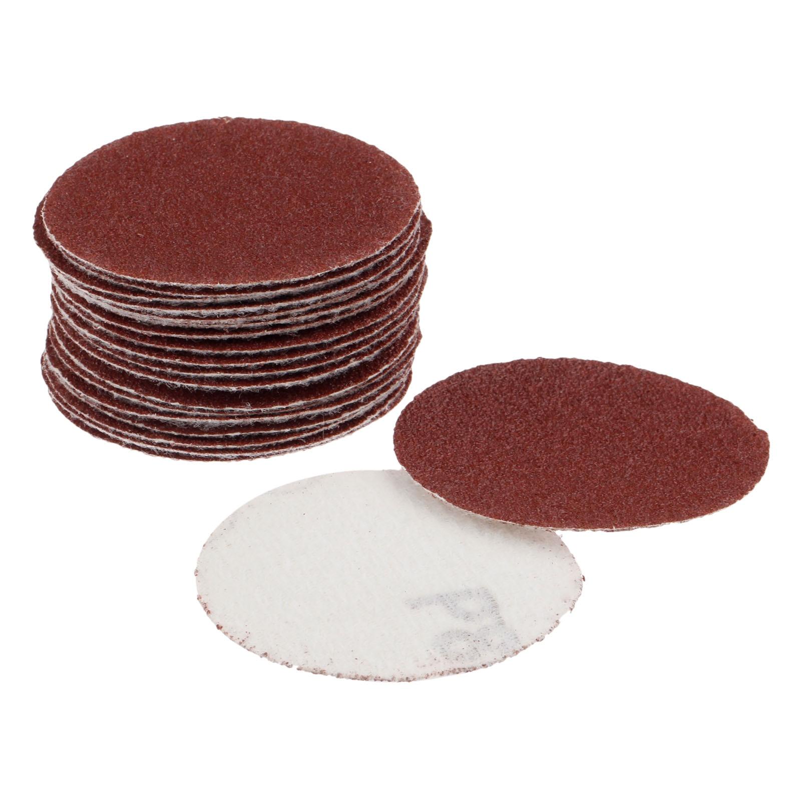 DRELD 20Pcs 2 Inch 50mm Sander Disc Sanding Paper Polishing Pad Sandpaper 80 Grit For Dremel Electric Grinder Abrasive Tools