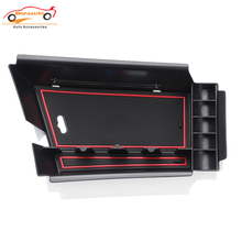 car styling For BMW X1 2017 Car Center Console Tray Car central armrest box storage box Interior Accessories Stowing Tidying
