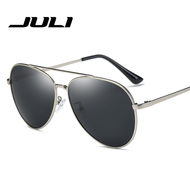 JULI Classic font b Fashion b font font b Polarized b font Men women s Sunglasses