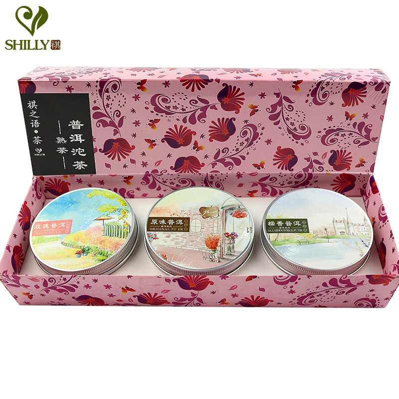 300g Puer Tea 3 Boxes Tuo Cha Puer Tea Gift Box Pu...