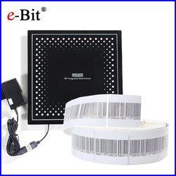 EAS RF 8.2 MHz etichetta del codice a barre 1000 pcs + 1 pc EAS RF etichetta morbida deactivator