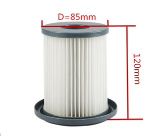 Image 2 - 2pcs Vacuum Cleaner Accessories HEPA Filters+12cm Filter Element For Philips FC8712 FC8714 FC8716 FC8720 FC8722 HEPA Filter