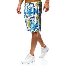 New Summer Printing Beachwear Men Boardshorts Quick Drying Beach Board Swim Shorts Mens Swimwear Swimming Short цена