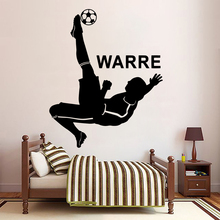 Cartoon Custom Name Removable Wall Decal Mural Decor For Living Room Vinyl Decals Bedroom Home