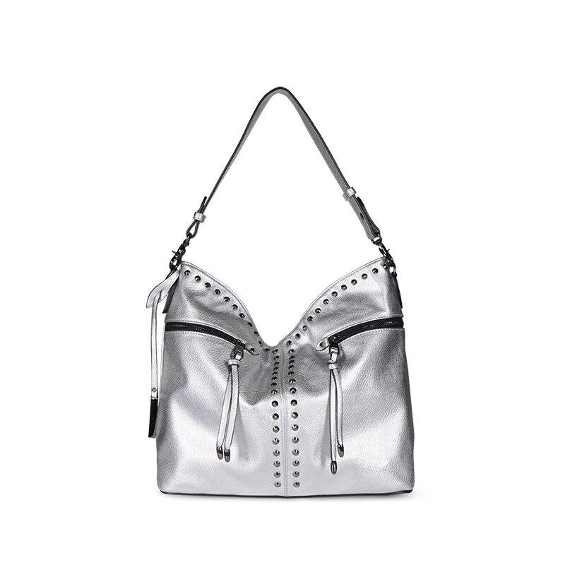 Designer Femmes silver Sac Bandoulière Cuir Sacs 2018 Fourre Bolsa Black tout Feminina Pour De Messager En Main À khaki Xn8BzrUn