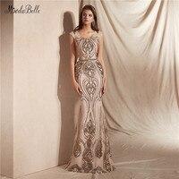 modabelle Champagne Evening Dresses Vestidos De Fiesta De Noche Talla Grande Evening Gowns For Women Vestido Sereia