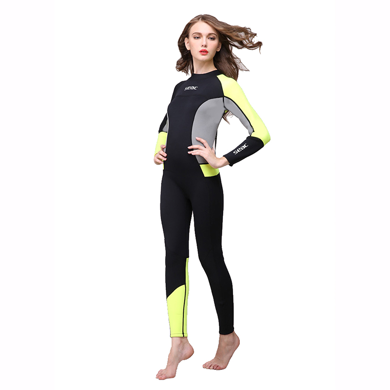 2017Long Sleeved and Warm Wetsuit 3mm Diving Suit Swimming Suit Neoprene Diving Suit