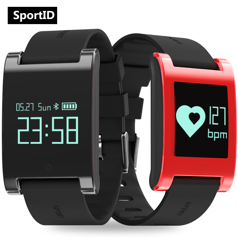 Smart Watch Men Woman Heart Rate Monitor Sports Bracelet Fitness Tracker Wristwatch DM68 Smartwatch Waterproof for Android iOS leegoal bluetooth smart watch heart rate monitor reminder passometer sleep fitness tracker wrist smartwatch for ios android