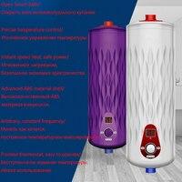 Mais novo 5500 W 220 V Aquecedor de Água Instantâneo Caldeira de Aquecimento Termostato Digital De Fluxo Kitchen & Bath Água Quente Instantânea Elétrica