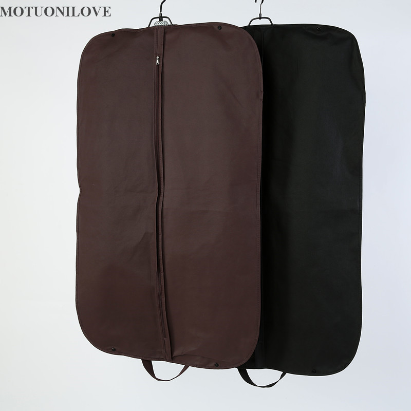 100*58cm Storage Bag Case For Clothes Organizador Garment Suit Coat Dust Cover Protector Wardrobe Storage Bag For Clothes M0806
