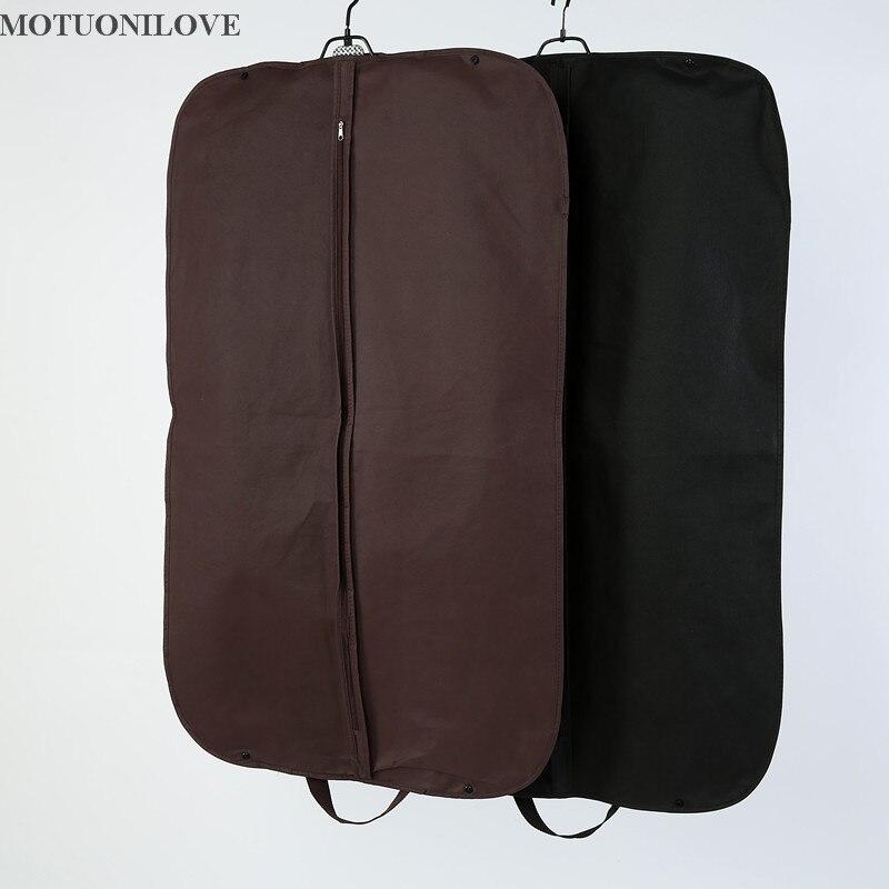 100*58cm Storage Bag Case For Clothes Organizador Garment Suit Coat Dust Cover Protector Wardrobe Storage Bag For Clothes M0806