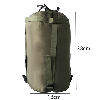 Outdoor Sleeping Bag Compression Sack Clothing Sundries Drawstring Storage Pouch Camping Equipment(Not included Sleeping Bag) 2