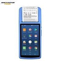 IssyzonePOS Android 6,0 PDA мини чек принтер 58 мм gps ручной pos терминал NFC Bluetooth wifi 4 г gps камера PDA поддержка OTG
