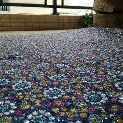 Cena fabryczna afryki tkanina wyszywana kamieniami wysokiej jakości ankara tkaniny dla kobiety sukienki DG911