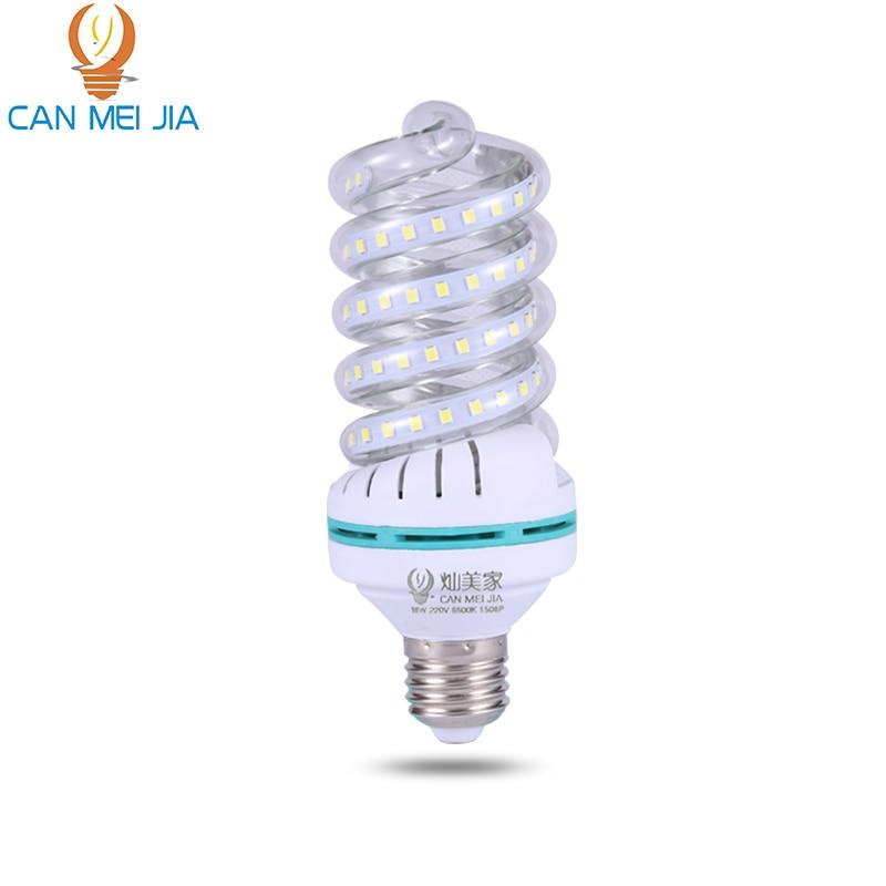 CANMEIJIA Led Home Lighting Led Corn Bulbs Light E27 12W 18W Energy Saving Lamp Lights Bulb LEDs 5W SMD 2835 LED 36W 220V