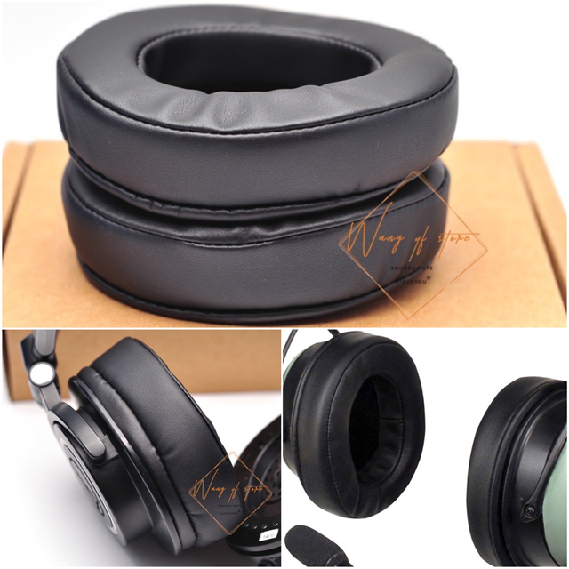 f5923766f70 Thick Foam Ear Cushion Pads For David Clark DC ONE-X Pilot Headset Aviation  Headphone