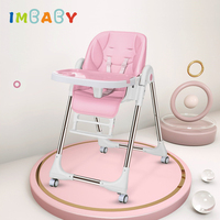 IMBABY High Chair for Feeding Baby Breastfeeding Chair kinderstoel kussen Kids Eating Chair Children Feeding Chair Dining Table