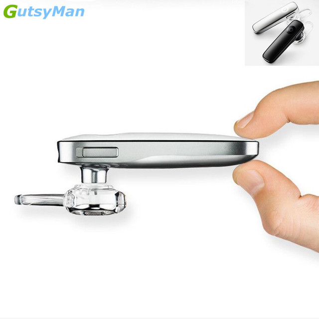 GutsyMan business bluetooth earphone wireless Stereo headset with micphone handsfree calls headphones for smart phones