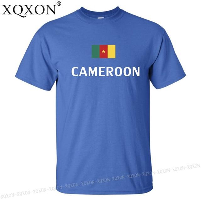 Cameroun conception t-shirt mixte été 2018 3