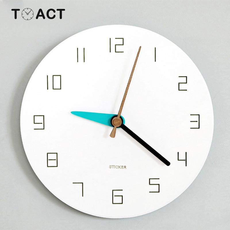 Nordic Clock Mute Wall Clocks Living Room Creative Modern Design Minimalist Home Decor Wall Watch Hanging Watches