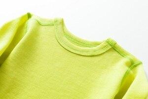 Image 2 - Комплект детского термобелья из 100% мериносовой шерсти, для мальчиков и девочек от 1,5 до 14 лет