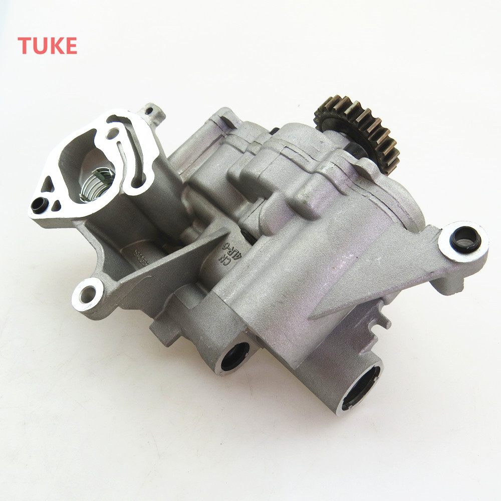 1.8T 2.0 Car Engine Lubrication Oil Pump Assembly For VW Jetta Golf Passat Scirocco Tiguan Beetle Octavia Seat Leon 06J115105AC car styling case for audi a4 a6 volkswagen golf 6 scirocco vw tiguan skoda seat leon decoration modified keyhole