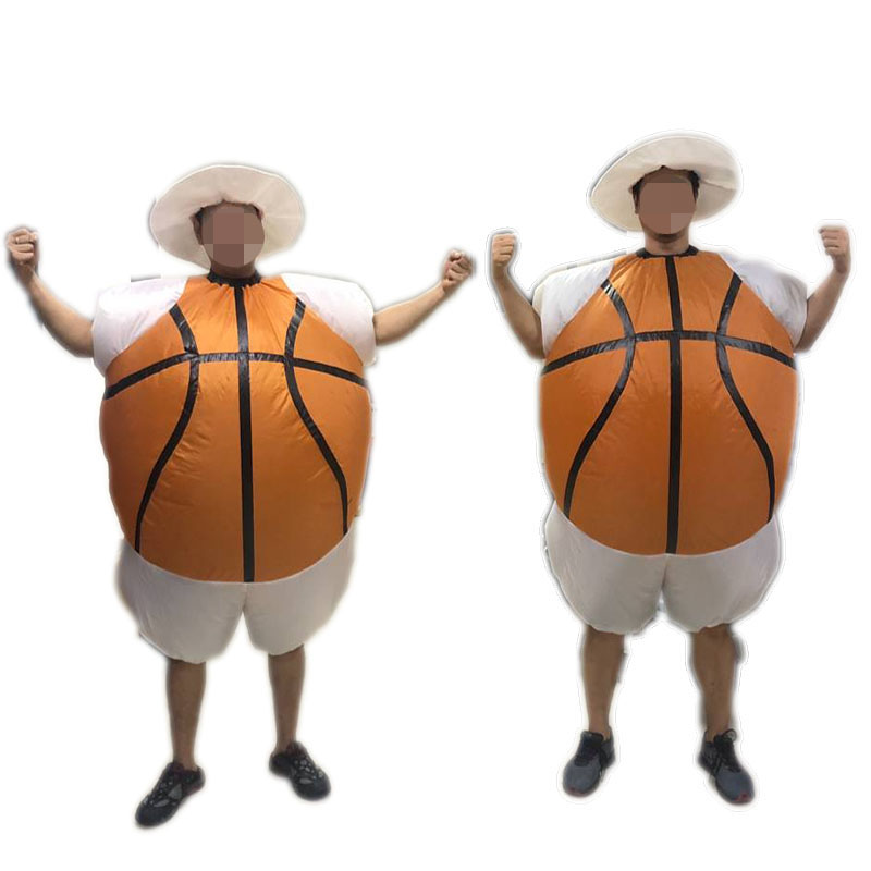 inflatable basketball costume for adult, party costume, carnival suit, festival cloth