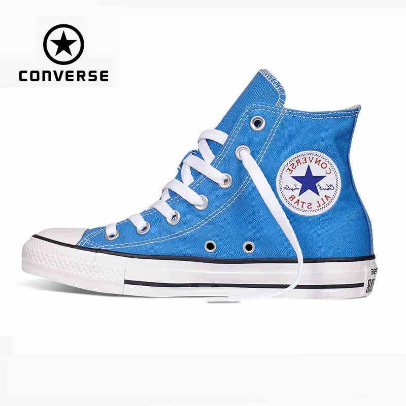 converse all star mujer azul