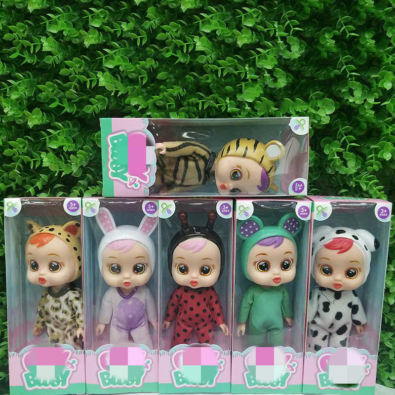 6Style Cry Babies Juguetes Reborn Baby Dolls Anime Figure Bebek Lea Doll Action Figure Birthday Party Toys for Children 2A1096Style Cry Babies Juguetes Reborn Baby Dolls Anime Figure Bebek Lea Doll Action Figure Birthday Party Toys for Children 2A109