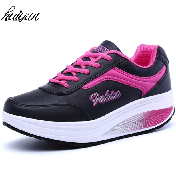 women casual shoes women summer outdoor shoes spring summer autumn lace up leather swing shoes female top quality