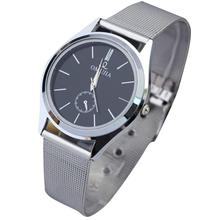 relogio masculino erkek kol saati reloj mujer Men's Women's Stainless Steel Band Quartz Wrist Watches Jun07 Essential