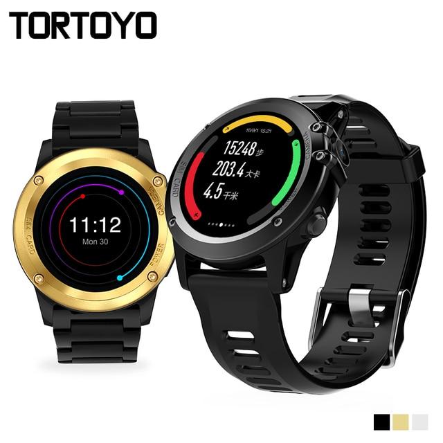 H1 Смарт-часы ОС Android 5.1 SmartWatch MTK6572 512 МБ 4 ГБ Встроенная память GPS sim 3 г сердечного ритма Мониторы Камера Водонепроницаемый спортивные наручные часы