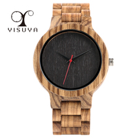 Full Wooden Watches Man Creative Bracelet Analog Nature Bamboo Quartz Wristwatch Male Clock Relogio Masculino Luxury