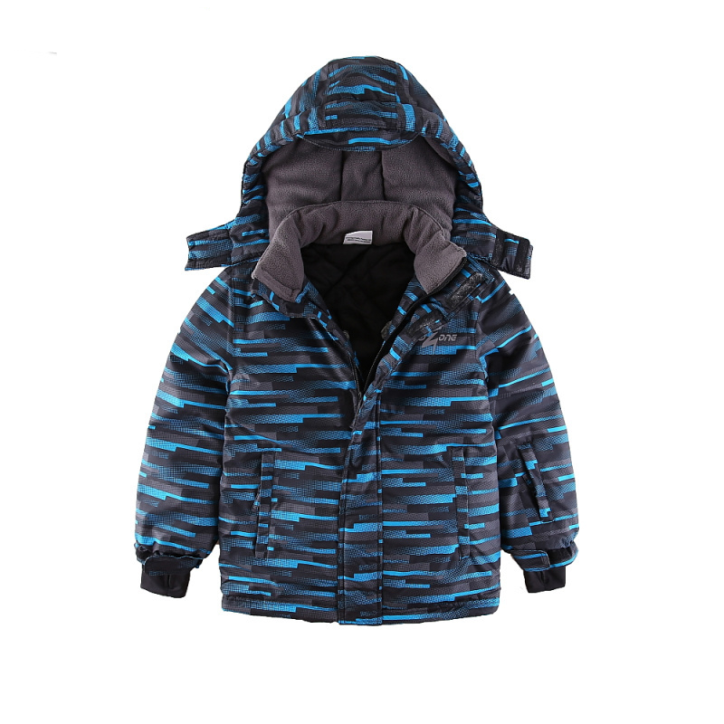 Mingkids peuter Jongen Snowsuit Outdoor Ski set Winter Warm Snow Suit - Kinderkleding